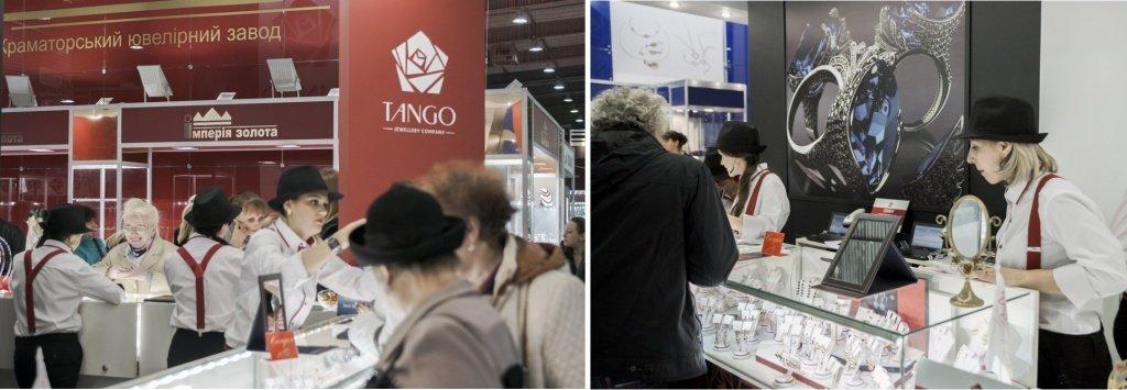 Стенд Tango на Ювелир Экспо Украина