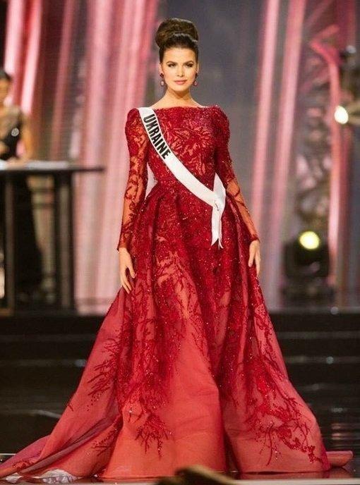 Алена Сподынюк представительница Украины на конкурсе Мисс Вселенная