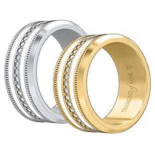 Обручальные кольца от Diamond of Love