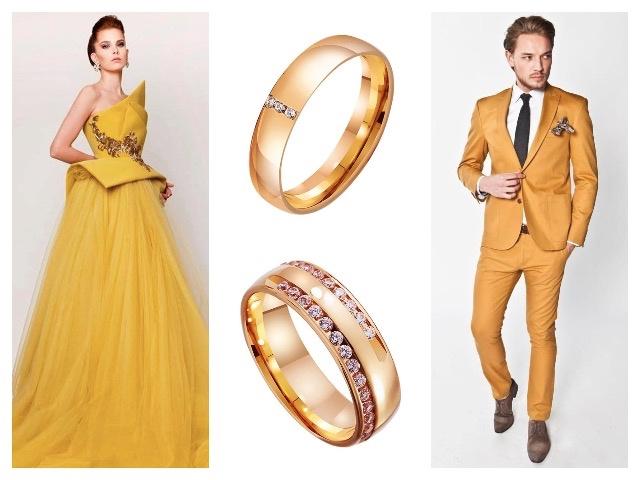 Обручальные кольца с бриллиантами европейка