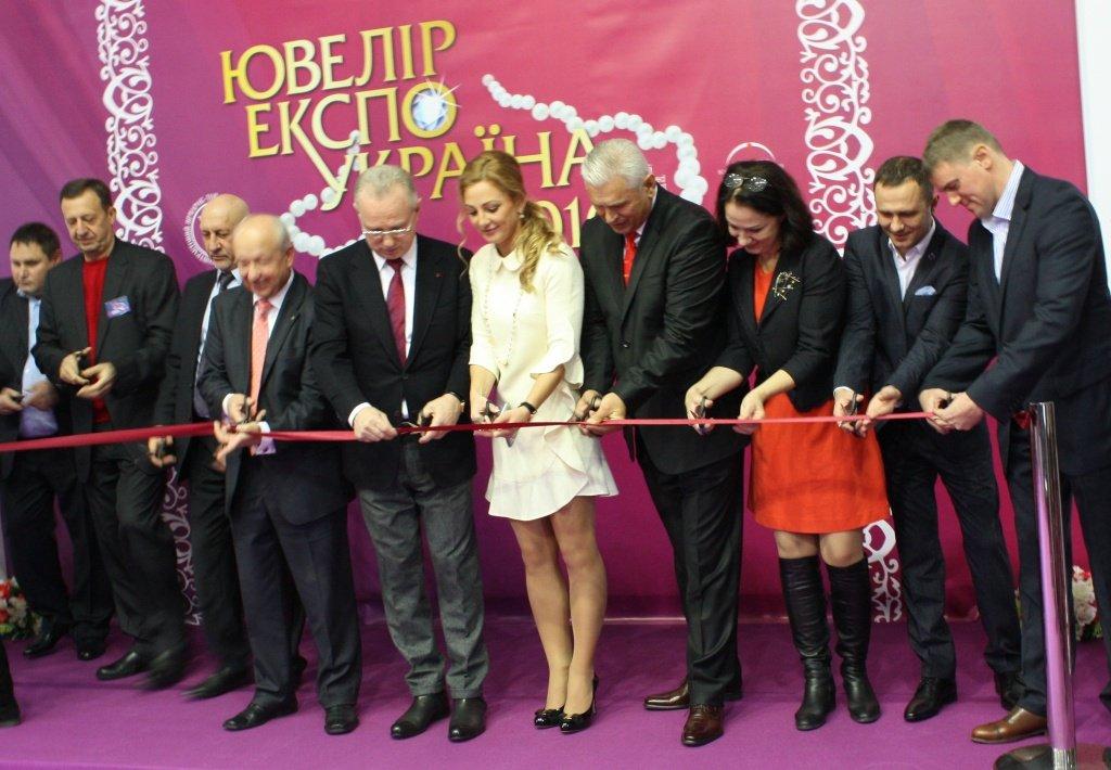 Открытие экспозиции Ювелир Экспо Украина