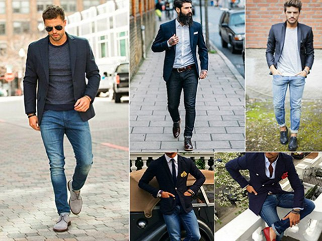 Одежда стильного мужчины не должна быть черной