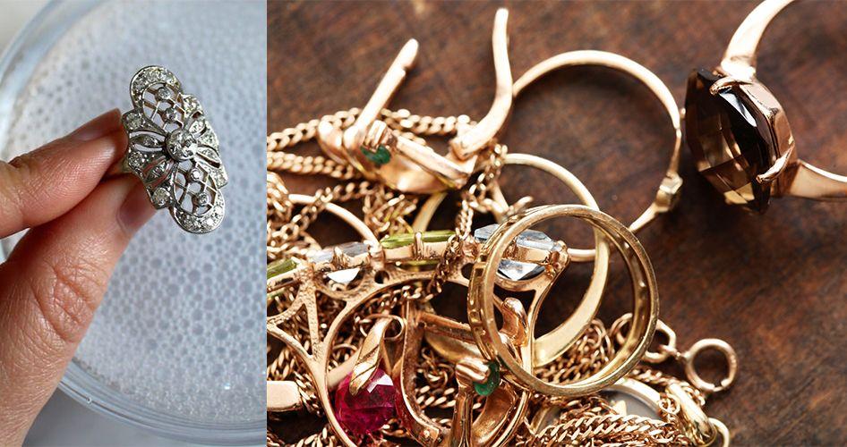Золотые и серебренные ювелирные украшения