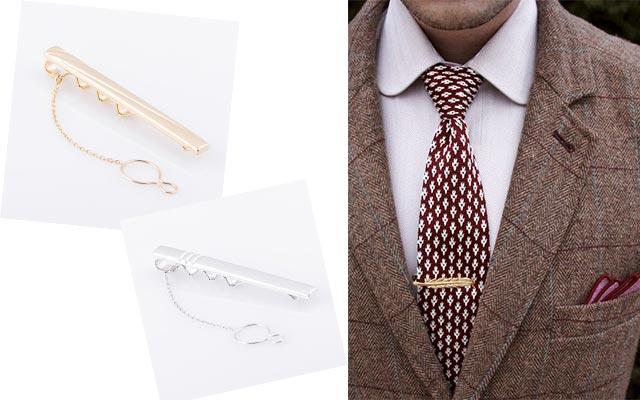 Зажим для галстука золото