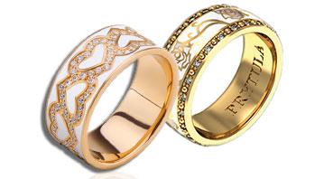 Обручальные кольца Prytula