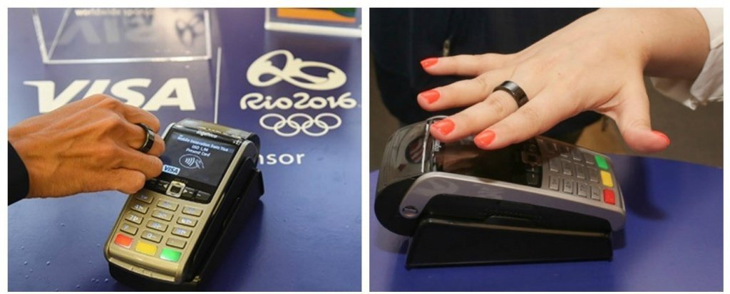 Visa payment ring