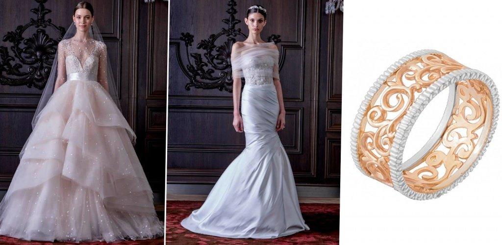 Свадебные платья от дизайнера Моник Лульер