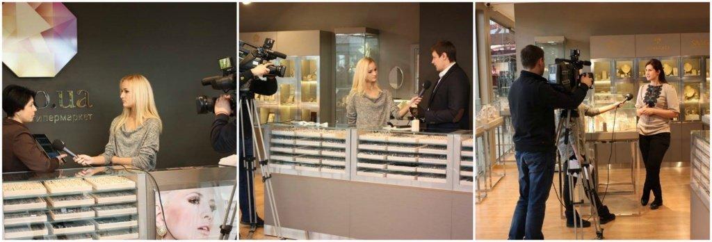 Съемки в шоу-руме Zlato.ua
