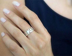 Серебренное кольцо на заказ
