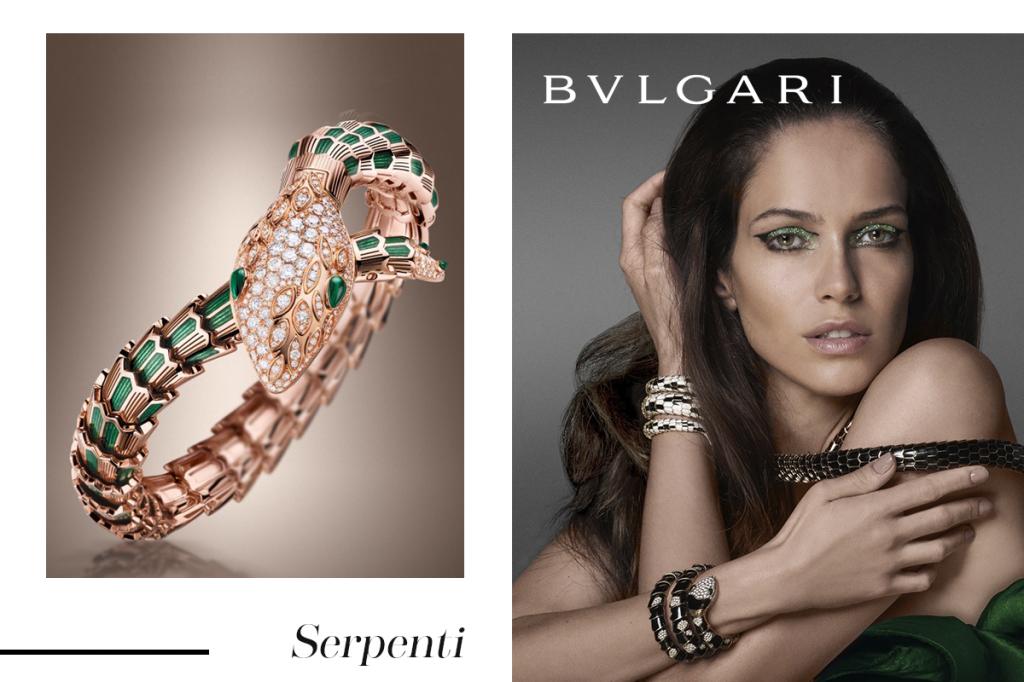 Змей с изумрудными глазами Булгари