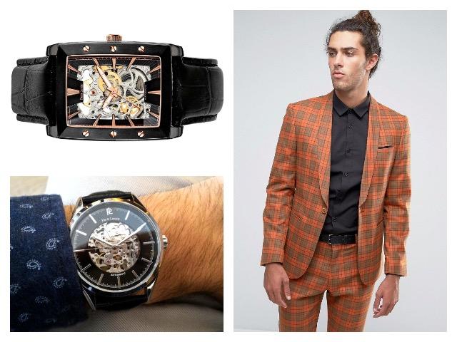Наручные мужские часы в стиле фэшн