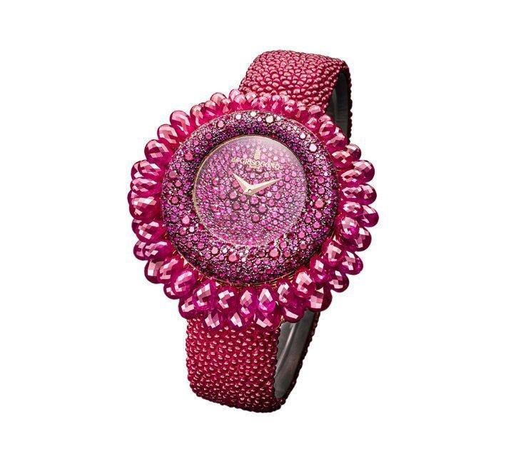 Часы с рубинами deGRISOGONO