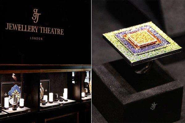 Бренд Jewellery Theatre на выставке Baselworld