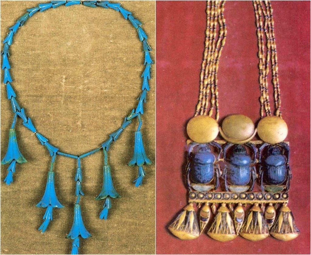 Египетские ювелирные украшения