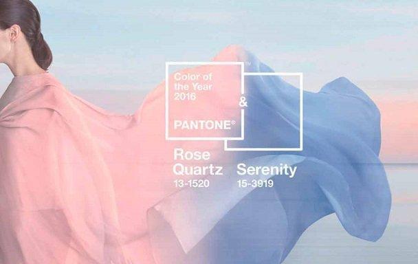 Rose Quartz и Serenity - трендовые цвета будущего года