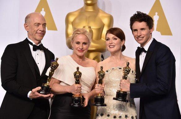 Победители в номинациях Оскар 2015
