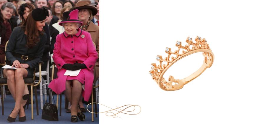 Золотое колечко Корона