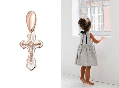 Детский православный крестик