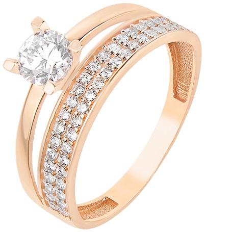Золотые кольца  купить золотое кольцо 585-й пробы в ювелирном ... 6330dee6922