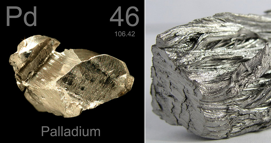 Палладий металл