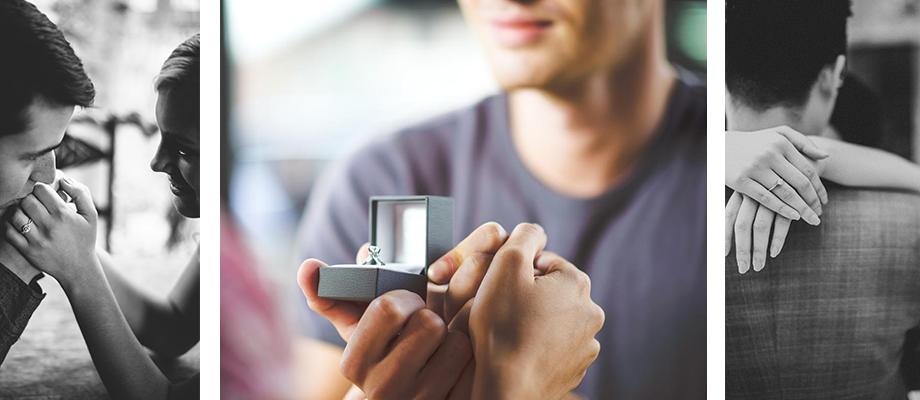 Выбирайте кольцо для помолвки в Zlato.ua и она точно скажет вам ДА