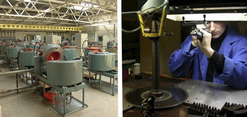 Оборудование для выращивания синтетических алмазов
