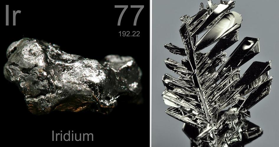 Драгоценные металлы ирридий