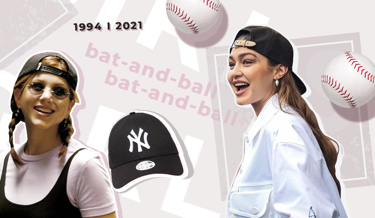 модные женские бейсболки