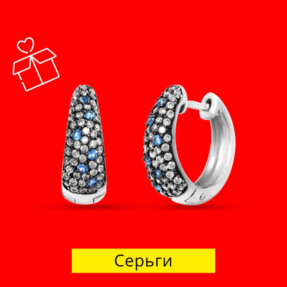 Золотые и серебряные серьги в Zlato.ua