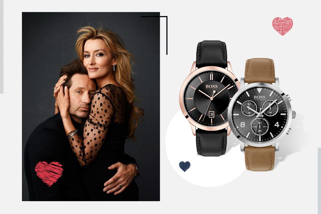 Мужские часы на День Валентина