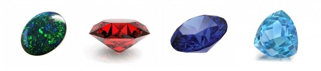 Цветные драгоценные камни