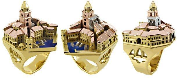 Город Сен-Тропе - золотое кольцо