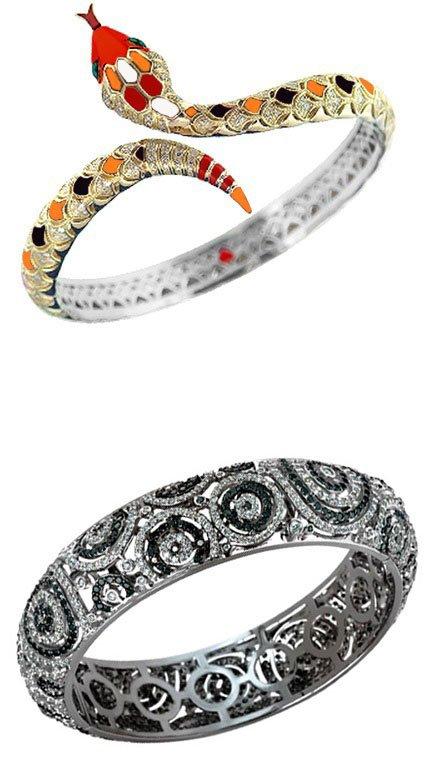 Золотые браслеты 585-й пробы  купить золотой браслет в ювелирном ... c6f7acc2286