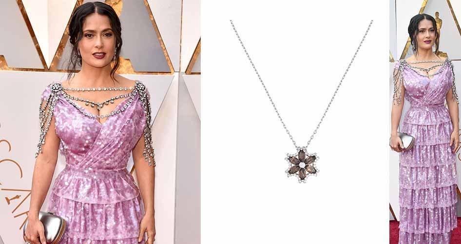Сальма Хайек на кино-премии Оскар