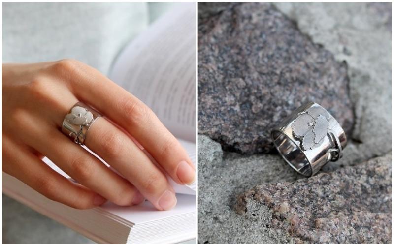 Наборы серебряных украшений для женщин