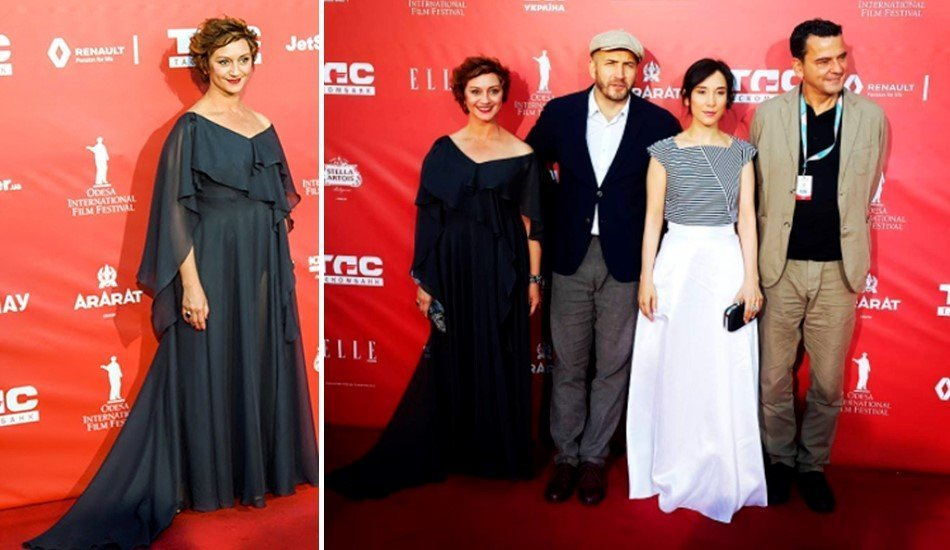 Члены жюри одесского международного кинофестиваля