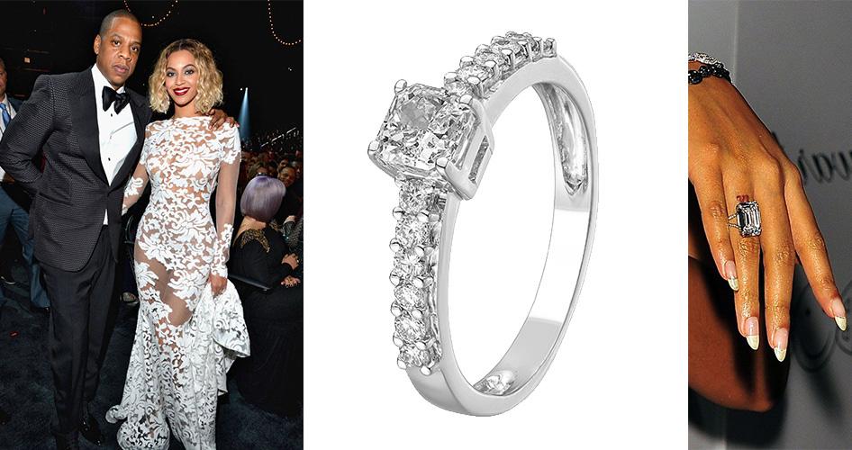 Обручальное кольцо Бейонсе