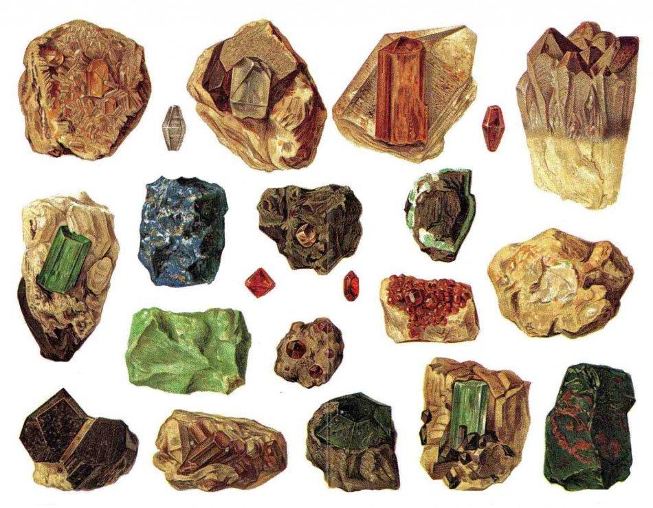 Натуральные драгоценные камни