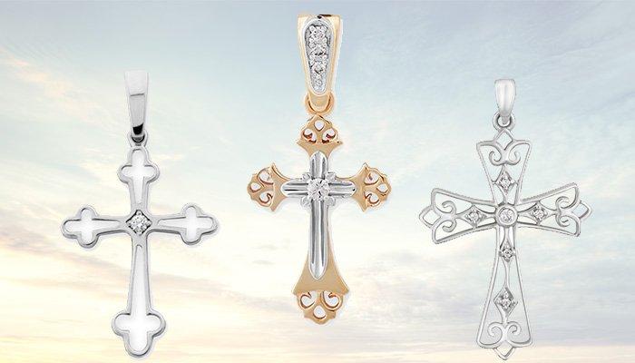 Ювелирные крестики с бриллиантами
