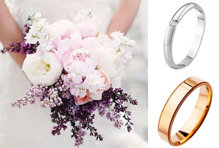 Классические кольца на свадьбу