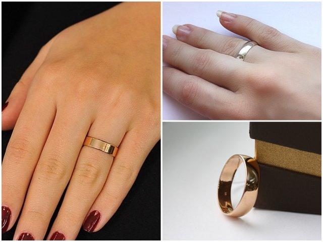 Обручальные кольца для зрелых пар
