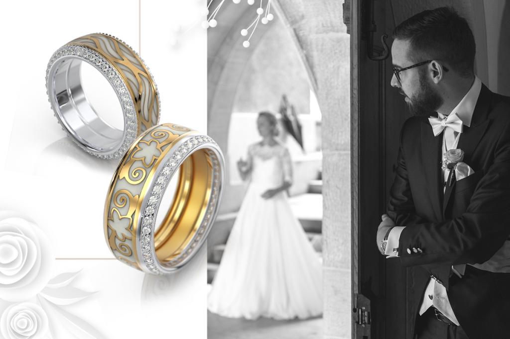 Кольца обручальные и для венчания