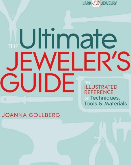 "Книга Джоанны Голберг ""Ultimate jewelers guide"""