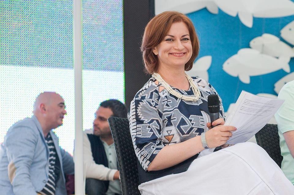 Анна Старостенко на Дне Рождении большого города