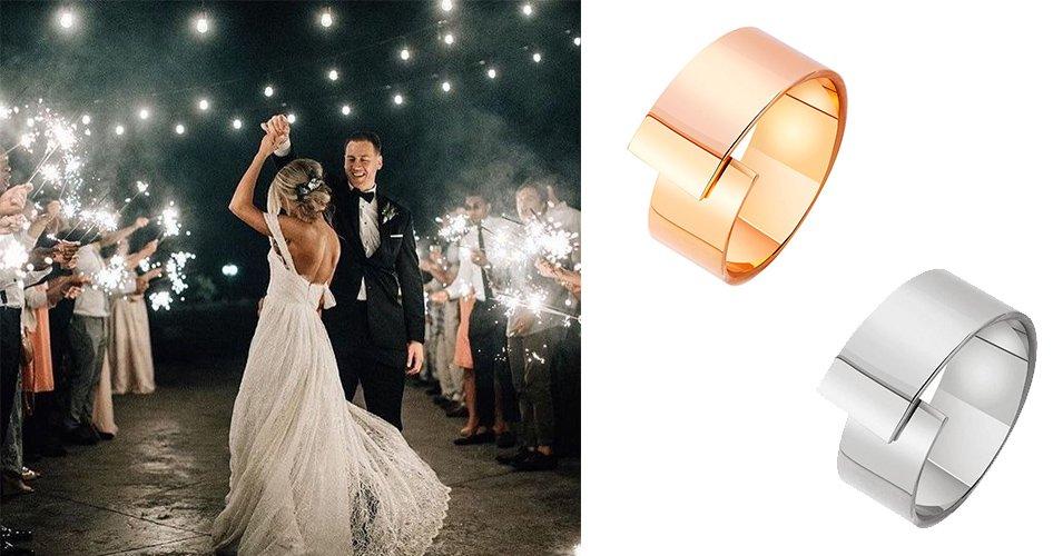 Обручальные кольца из золота