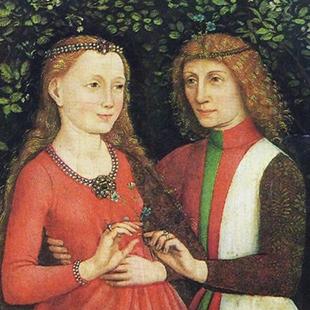 Мария Бургундская и эрцгерцог Максимилиан 1477г.