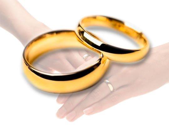 Обручальные кольца в классическом стиле