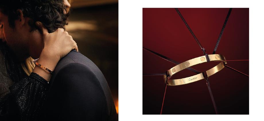 Золотой браслет Cartier Love