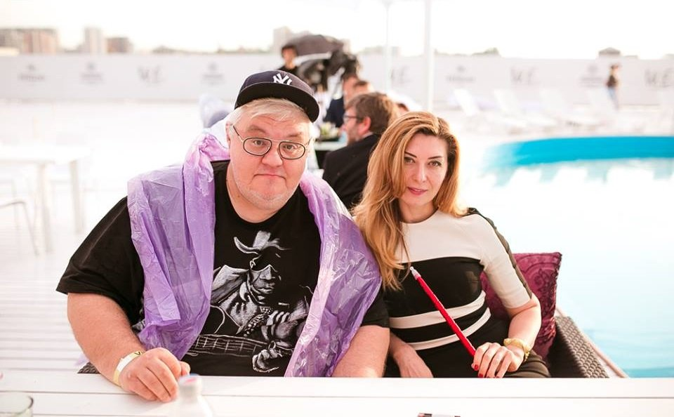 Сергей Сивохо с женой
