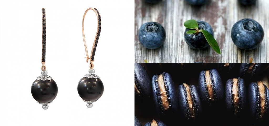 Серьги шарики французская петля золотые